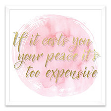 If It Cost You Your Peace Shadowbox