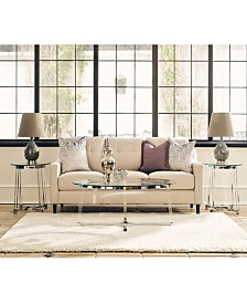 Sophia 3 Piece Occasional Table Set-Coffee Table and Two End Tables