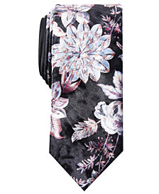 Tallia Men's Baker Slim Floral Tie