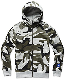 G-Star RAW Men's Regular-Fit Camouflage Moto Hoodie