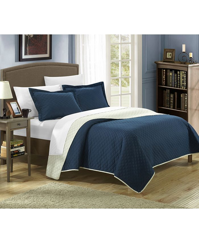 Chic Home - Teresa 7-Pc. Bed in a Bag Quilt Sets
