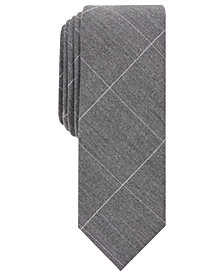 Penguin Men's Lundeen Skinny Check Tie