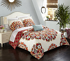 Chic Home Maxim 8 Pc Duvet Set Collection