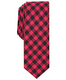 Penguin Men's Freeman Skinny Check Tie