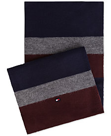 Tommy Hilfiger Men's Colorblocked Scarf