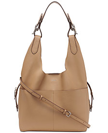 DKNY Wes 2-in-1 Leather Hobo, Created for Macy's