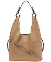 DKNY Wes 2-in-1 Leather Hobo, Created for Macy s 10f50f1912