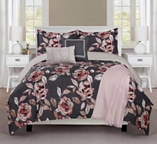 Ellen Tracy Fleur Du Jour 6-Piece Full Comforter Set