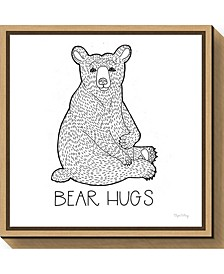 Color the Forest I Bear Hugs by Elyse Deneige Canvas Framed Art