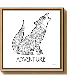 Color the Forest VI Adventure by Elyse Deneige Canvas Framed Art
