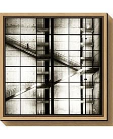 Stairways by Mario Benz Canvas Framed Art
