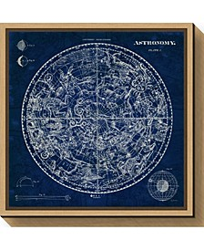 Celestial Blueprint by Susan Schlabach Canvas Framed Art