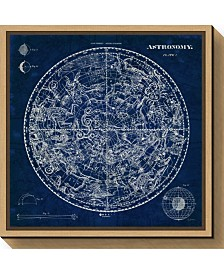 Amanti Art Celestial Blueprint by Susan Schlabach Canvas Framed Art