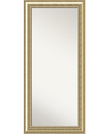 Amanti Art Astoria Wood 31x67 Floor - Leaner Mirror
