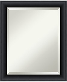 Amanti Art Nero 19x23 Bathroom Mirror