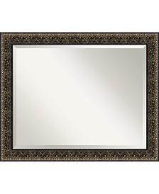 Amanti Art Intaglio Embossed 33x27 Bathroom Mirror
