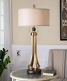 Selvino Brushed Brass Table Lamp