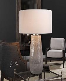 Uttermost Balkana Aged Gray Table Lamp