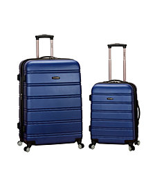 """20"""", 28"""" 2Pc Expandable Abs Spinner Set"""