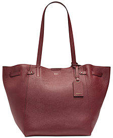 DKNY Ludlow Pebble Leather Tote, Created for Macy's