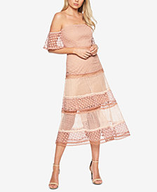 Bardot Off-The-Shoulder Lace Dress