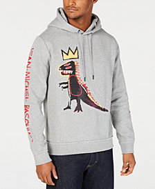 Sean John Men's Basquiat T-Rex Regular-Fit Graphic Hoodie
