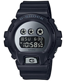 G-Shock Men's Digital Black Resin Strap Watch 38mm