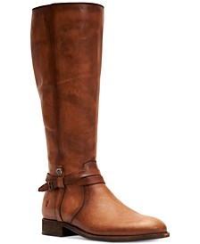 Women's Melissa Belted Leather Boots