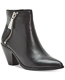 Women's Lila Zip Leather Booties
