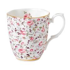 Royal Albert Rose Confetti Vintage Mug