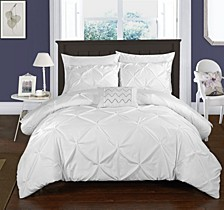 Daya 3 Pc Twin Duvet Cover Set