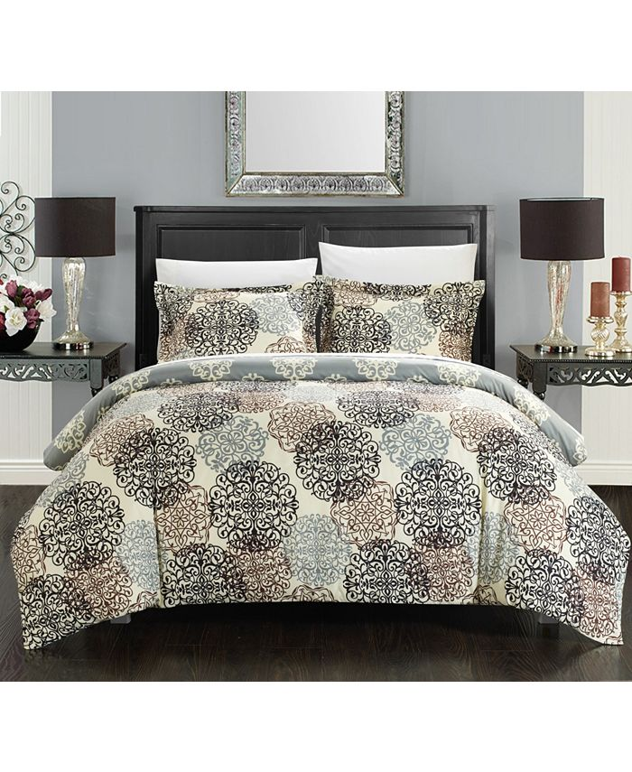 Chic Home - Jerome 3-Pc. Duvet Cover Sets