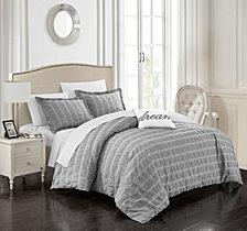 Chic Home Millbury 4 Pc King Duvet Cover Set
