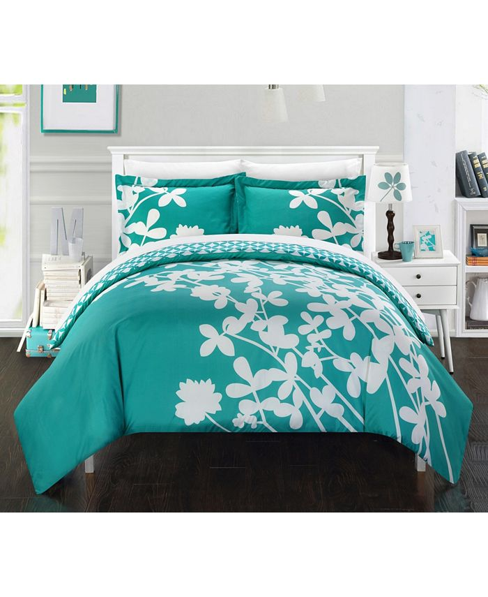 Chic Home - Calla Lily 3-Pc. Duvet Cover Sets