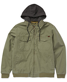 Billabong Men's Barlow Twill Hooded Jacket
