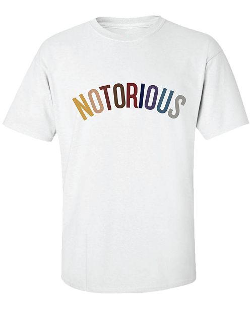 ed90708c Merch Traffic Notorious B.I.G. Color Men's Graphic T-Shirt & Reviews ...