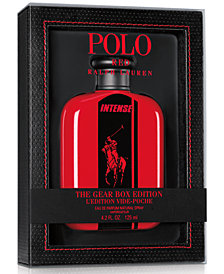 Ralph Lauren Men's Polo Red Intense The Gear Box Edition, 4.2-oz.