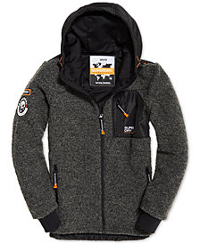 Superdry Men's Mountain Fleece Parka