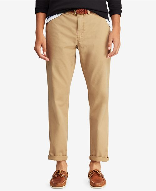 Polo Ralph Lauren Men's Classic-Fit Stretch Bedford Chino Pants