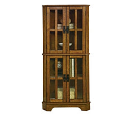 Betty Traditional Curio Cabinet