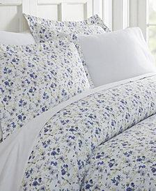 Home Collection Premium Ultra Soft 3 Piece Blossoms Print Duvet Cover Set, Queen