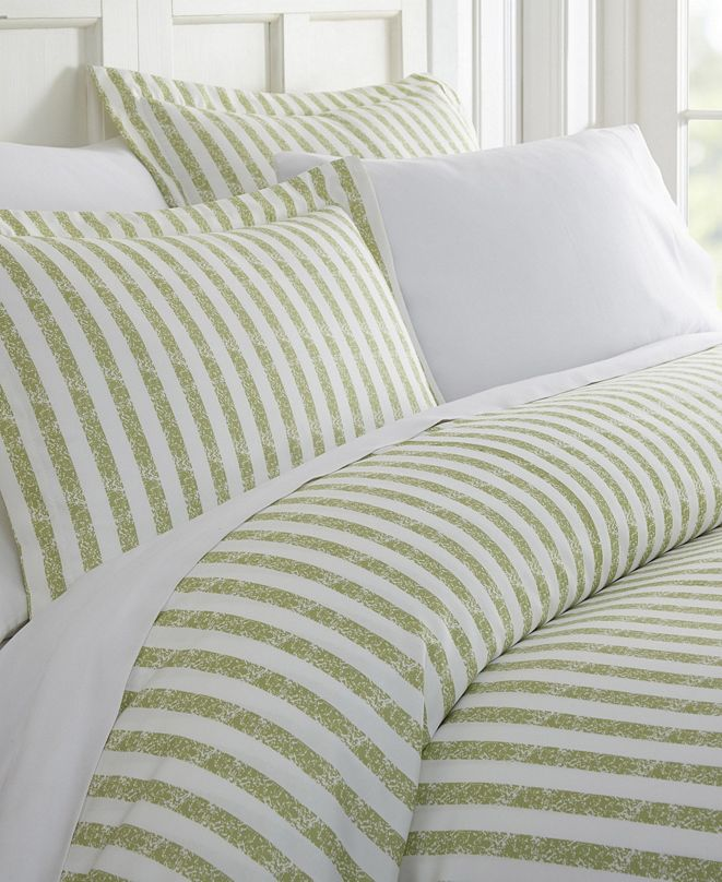 ienjoy Home Tranquil Sleep Patterned Duvet Cover Set by The Home Collection, Twin/Twin XL