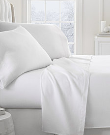 Home Collection Premium Ultra Soft Flannel Cal King Sheet Set, 4-Piece