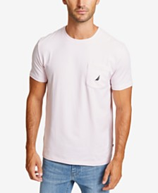 Nautica Men's Solid Stretch Anchor T-Shirt