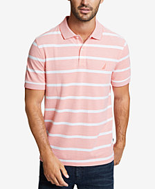 Nautica Men's Kailua Stripe Oxford Polo
