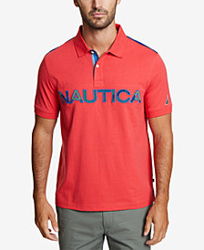 Nautica Men's Kauai Logo Polo