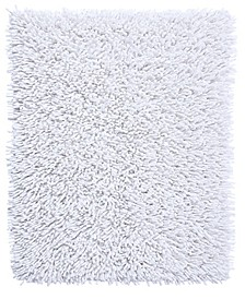 Chenille Shaggy 17x24 Cotton Bath Rug