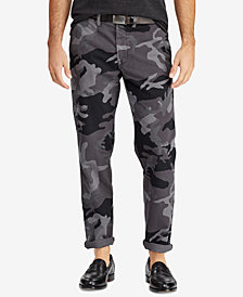 Polo Ralph Lauren Men's Big & Tall Classic Fit Camouflage Stretch Chino Pants