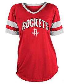 5th & Ocean Women's Houston Rockets Mesh T-Shirt