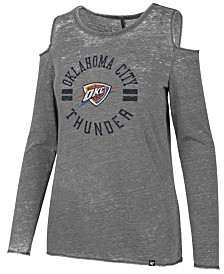 '47 Brand Women's Oklahoma City Thunder Cold Shoulder Long Sleeve T-Shirt